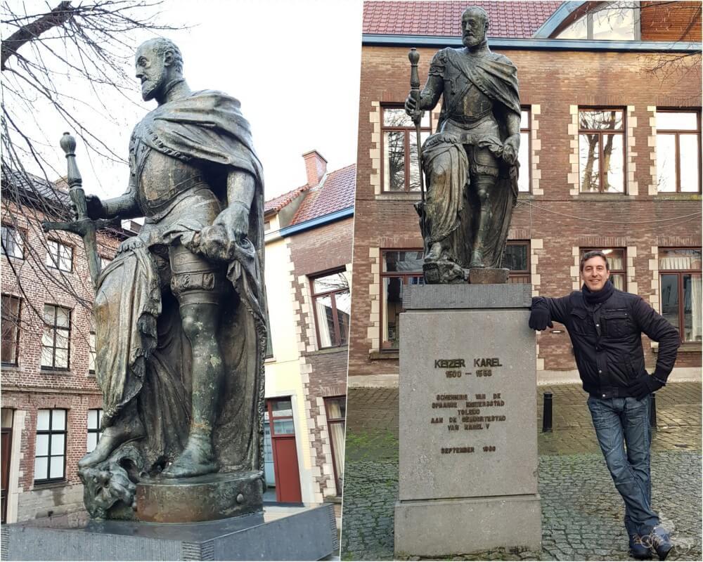 Estatua Carlos V qué ver en Gante en un día