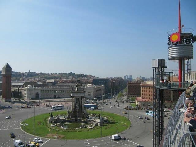 vistas mirador Centro comercial Las Arenas