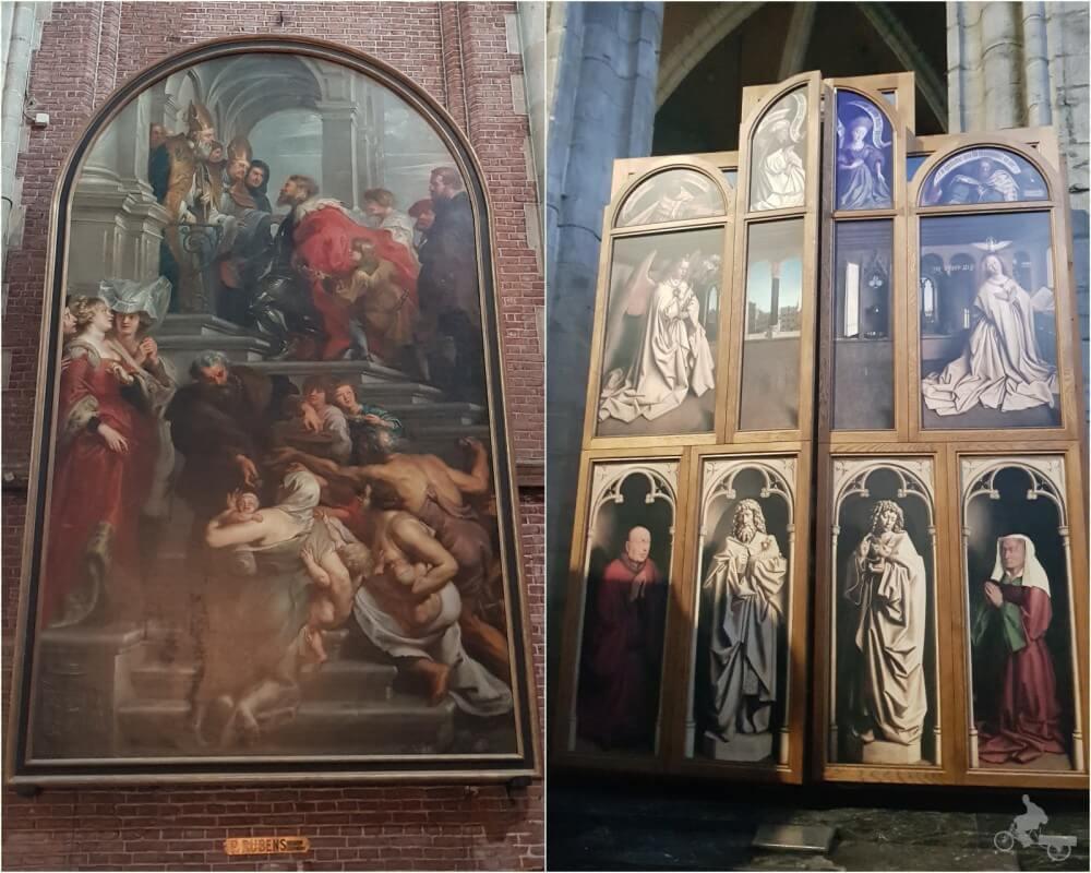 pintura rubens catedral gante