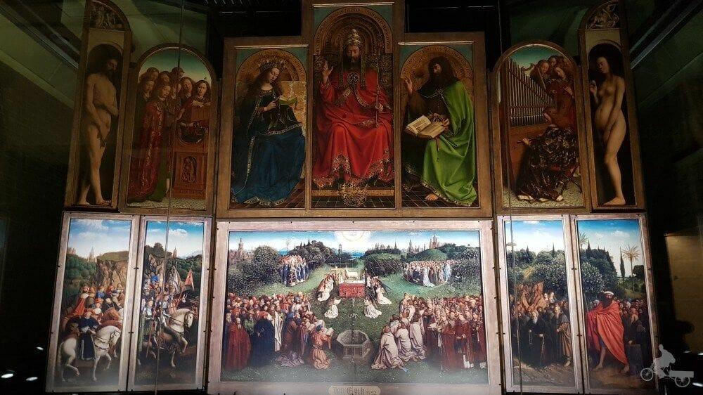 cordero mistico gante van eyck
