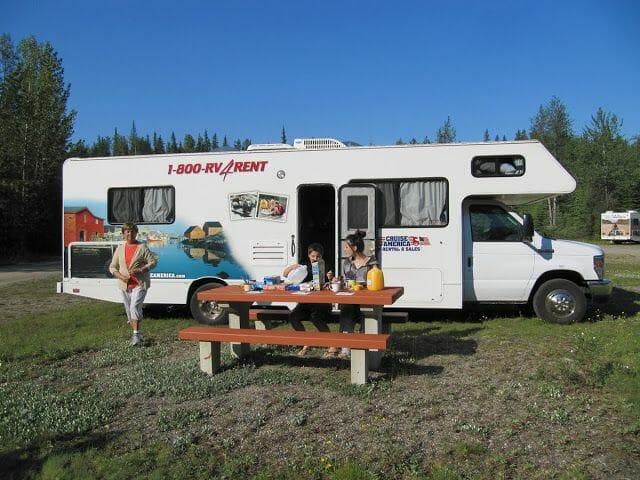 alquilar autocaravana en Canadá
