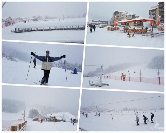 pistas esquí en Ax 3 Domaines en el viaje al Ariège