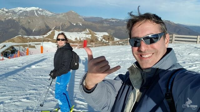 esquiar en guzet