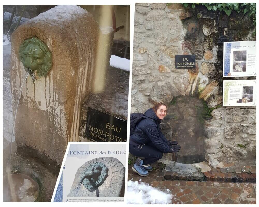 fontaine des neiges ax les thermes