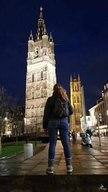iluminación qué ver en Gante en un día