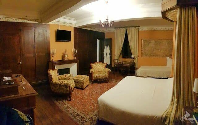 chateau de Beauregard habitación