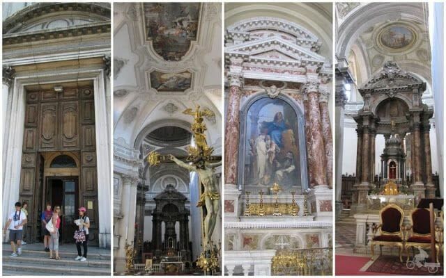Chiesa di Santa Maria del Rosario interior