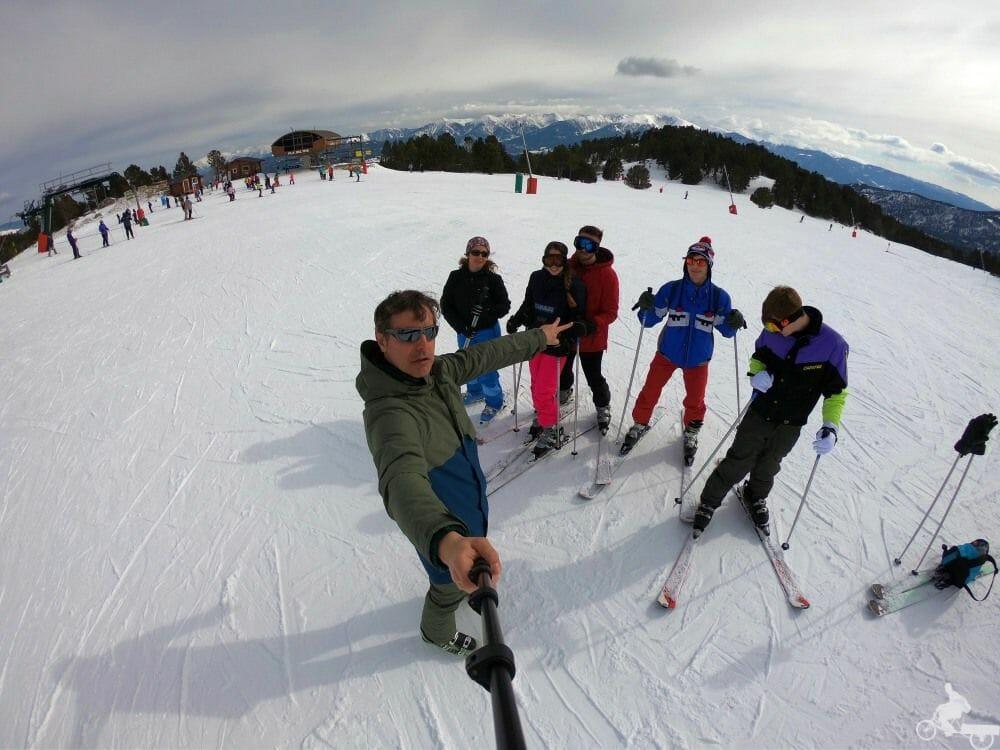 esquiar en Les Angles