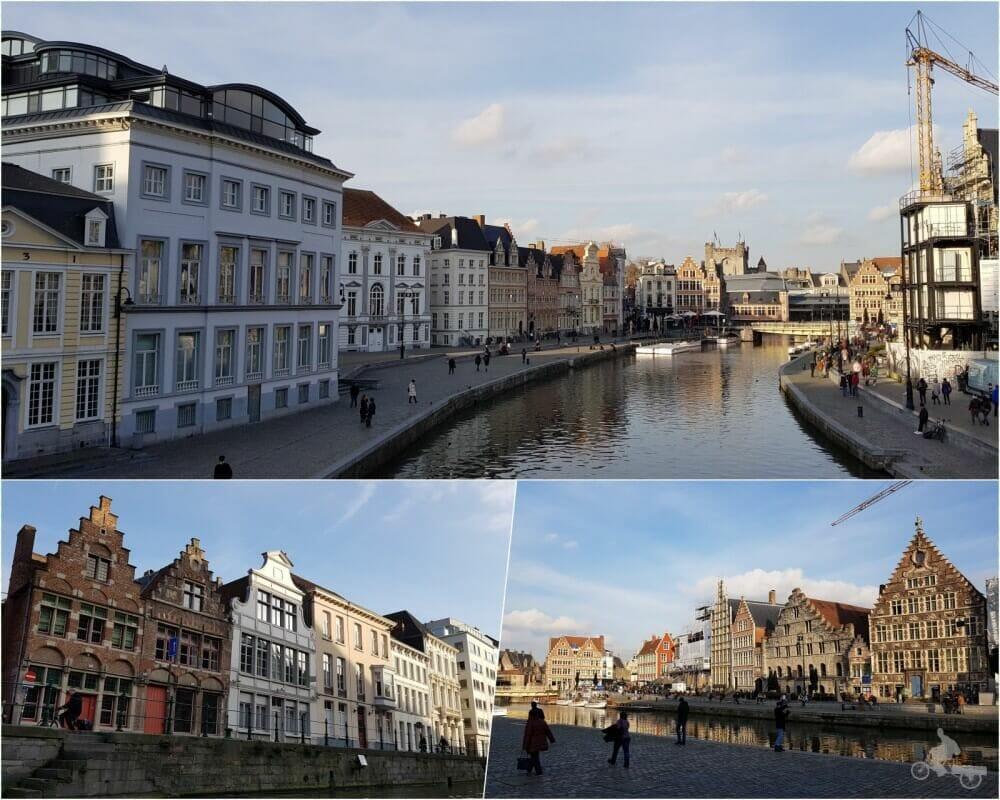 muelles Graslei y Korenlei - qué ver en Gante en un día