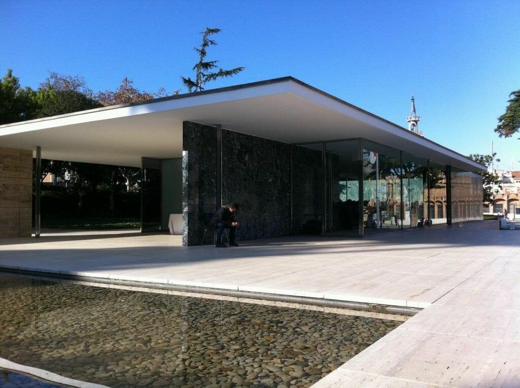 Pabellón Alemán (Mies Van der Rohe) - lugares poco turísticos de Barcelona