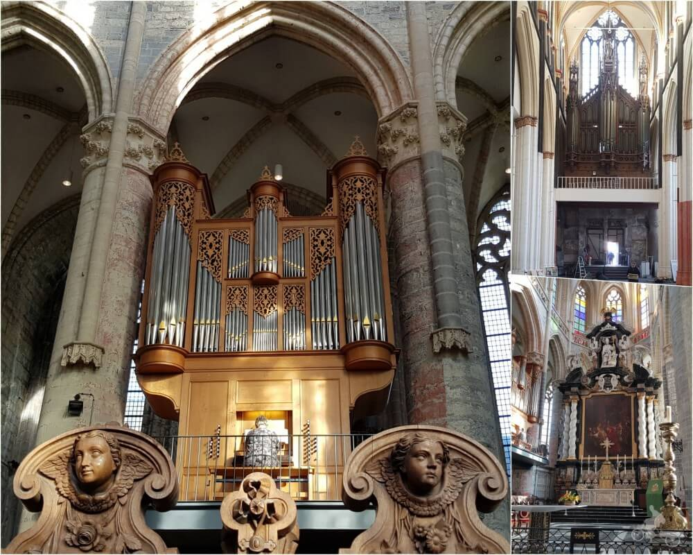 iglesia san nicolas por dentro organo