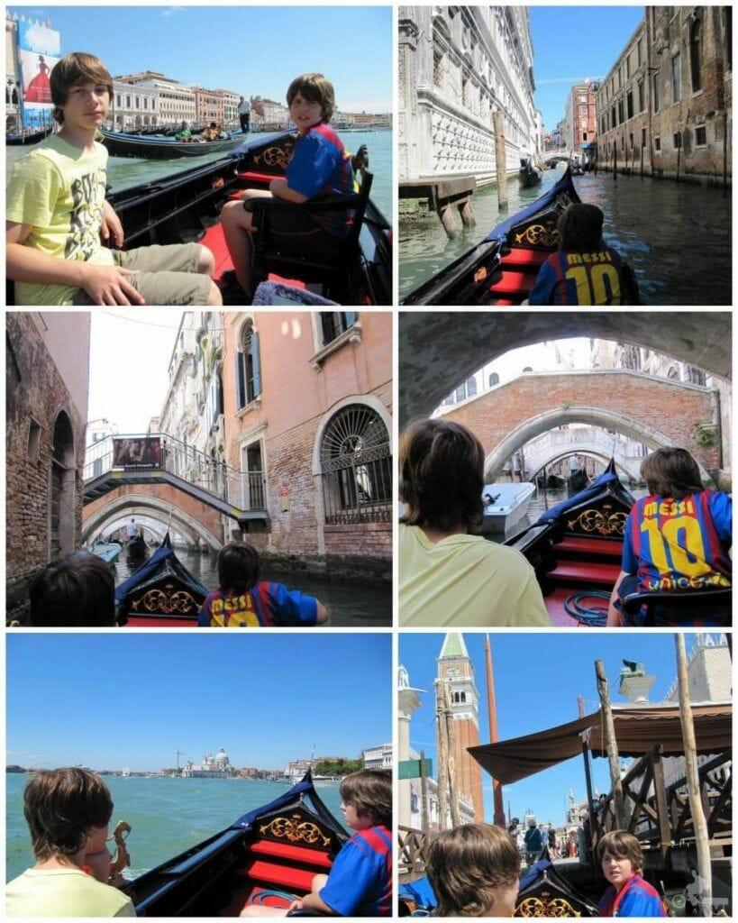vistas desde gondola venecia gran canal