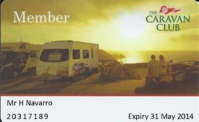 Caravan Club de Inglaterra