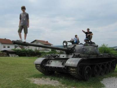 tanque croata de la guerra