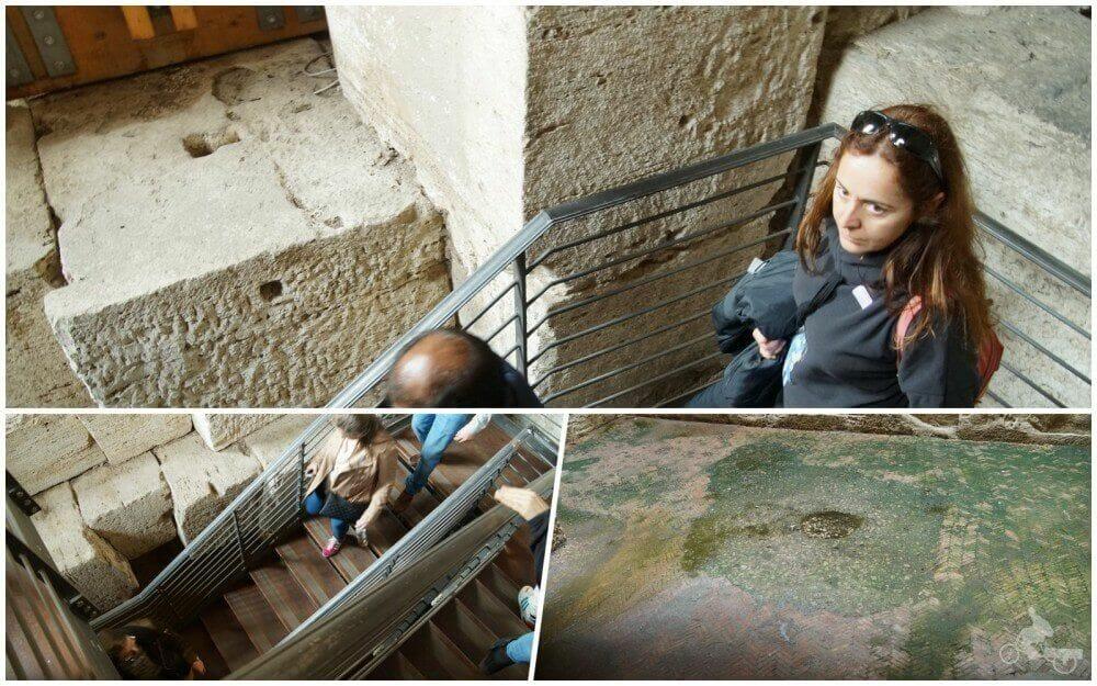 bajar a subterraneos coliseo