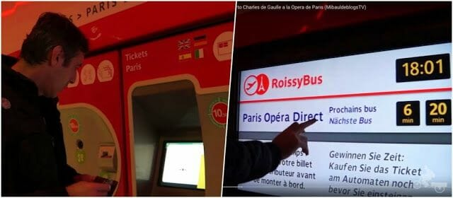 comprar billetes Roissybus París