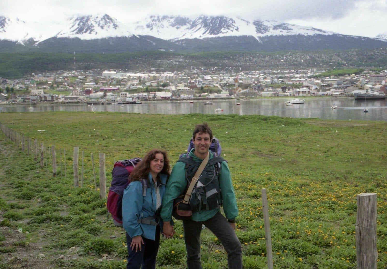 mochileros en ushuaia
