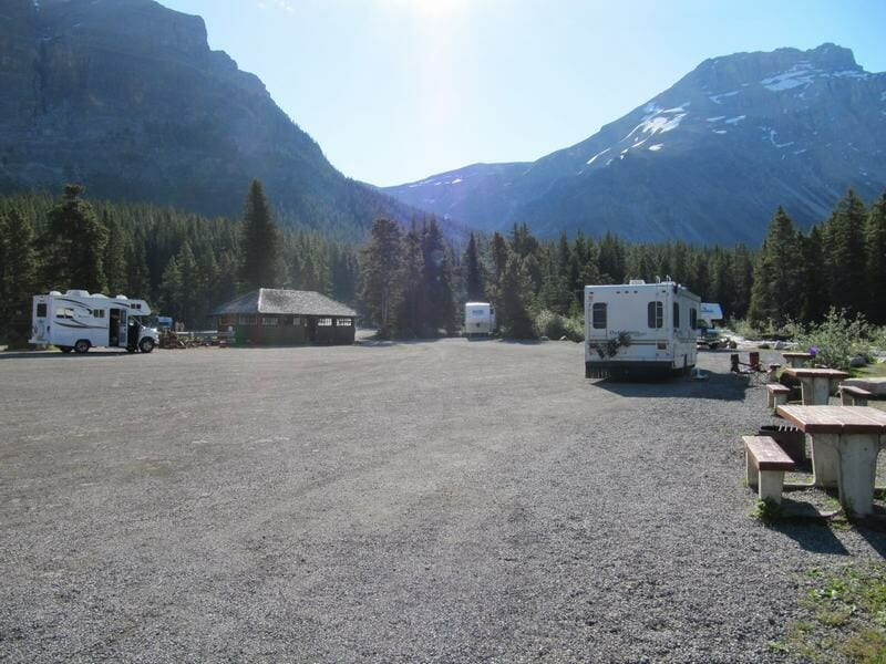 parcelas camping mosquito creek