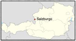 salzburgo en austria localizacion