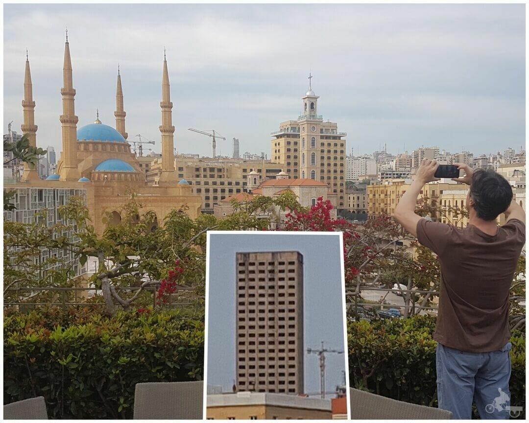 vistas mezquita desde hotel le gray