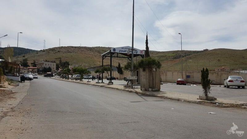 frontera libano siria
