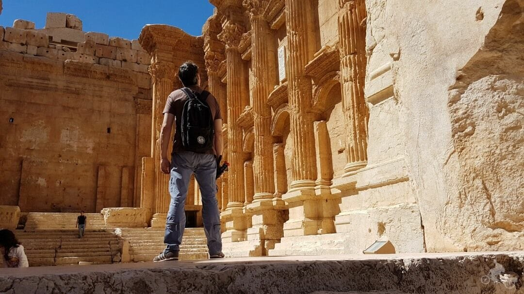 visita ruinas romanas de Baalbek