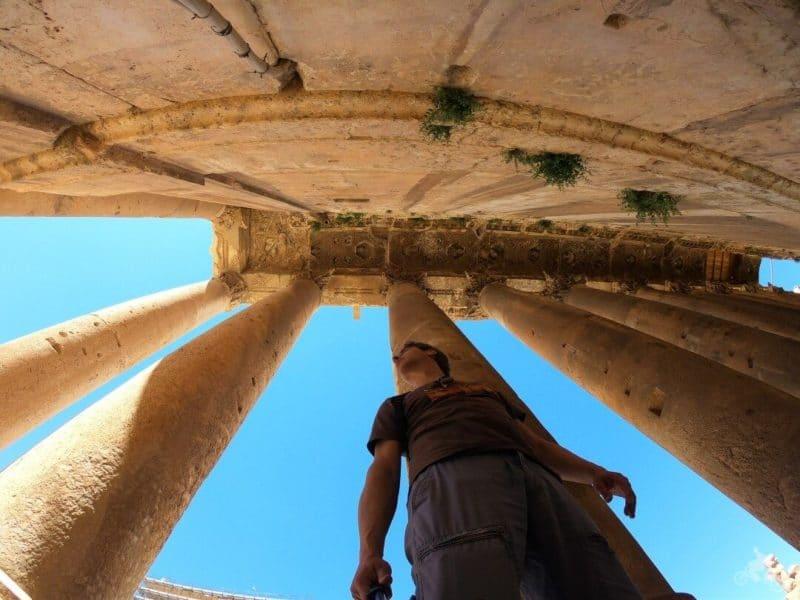 templo Baco - qué ver en Baalbek