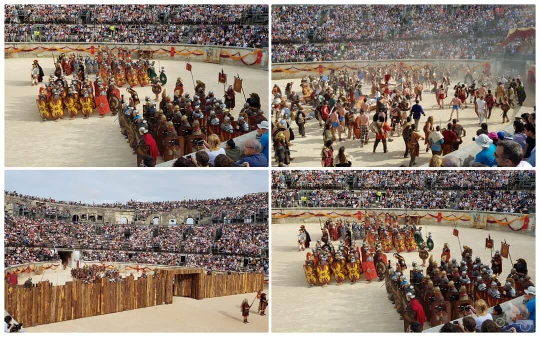 juegos nimes romanos francia