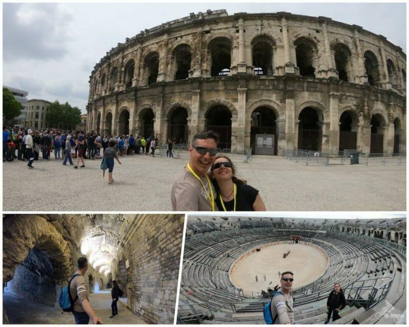 anfiteatro de nimes las arenas