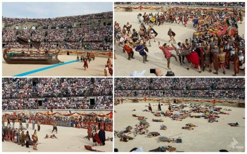 Nimes juegos romanos