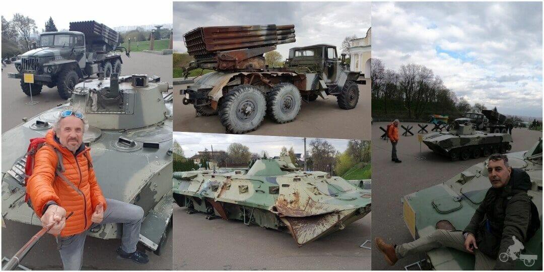tanques en kiev
