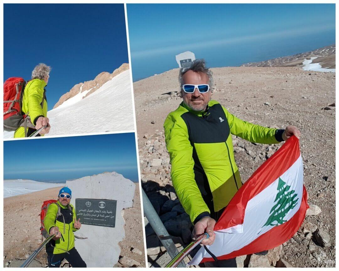 cima monte libano