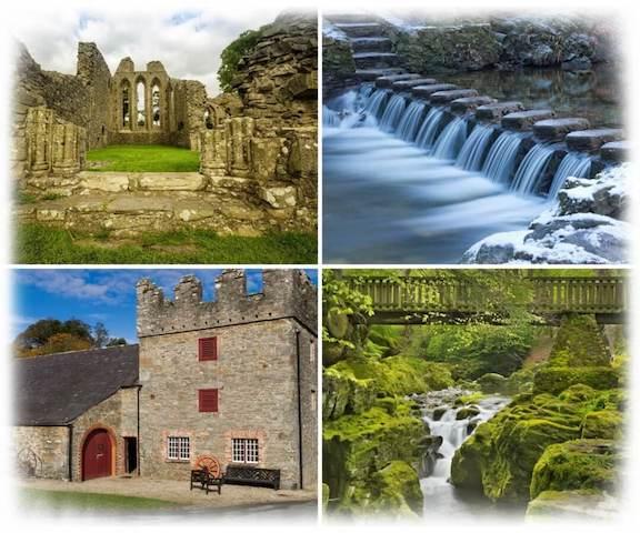 escenarios de juego de tronos en irlanda