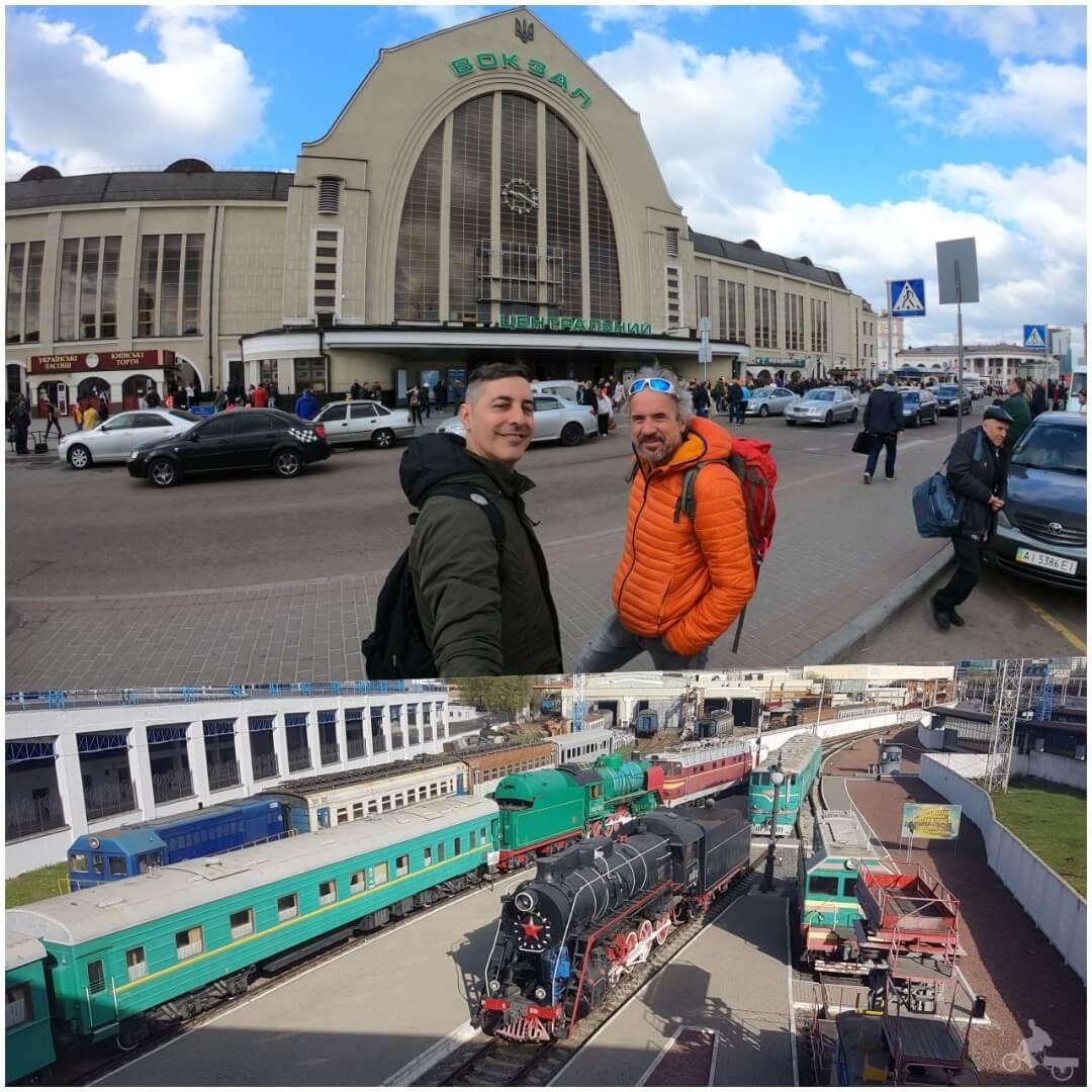 estación central de kiev