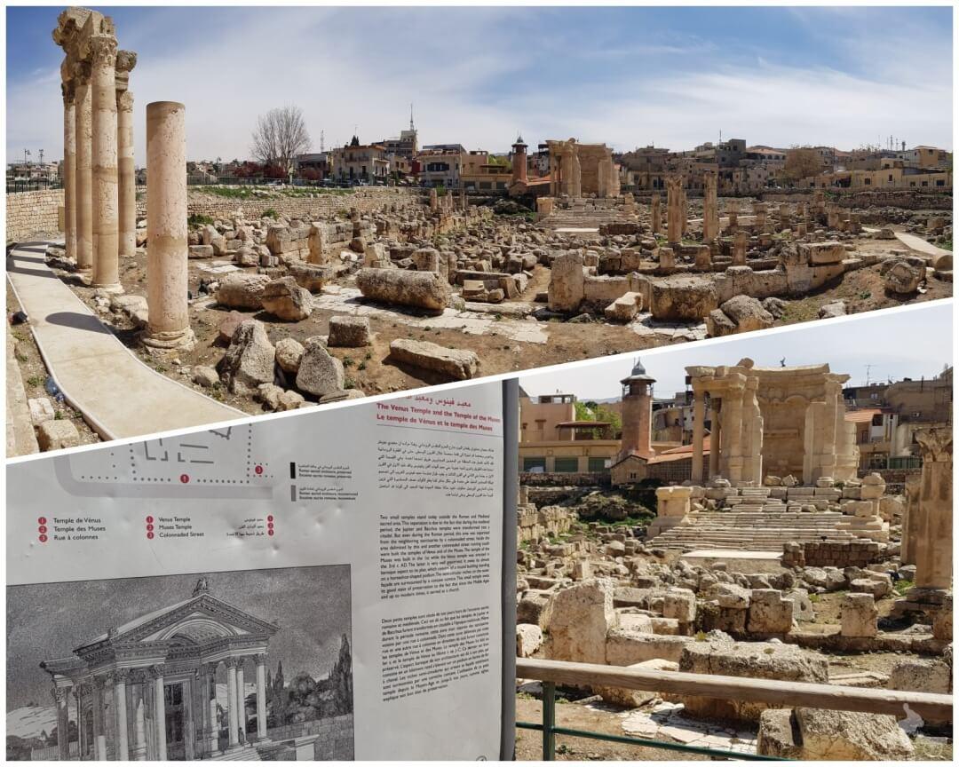 templo de venus en baalbek