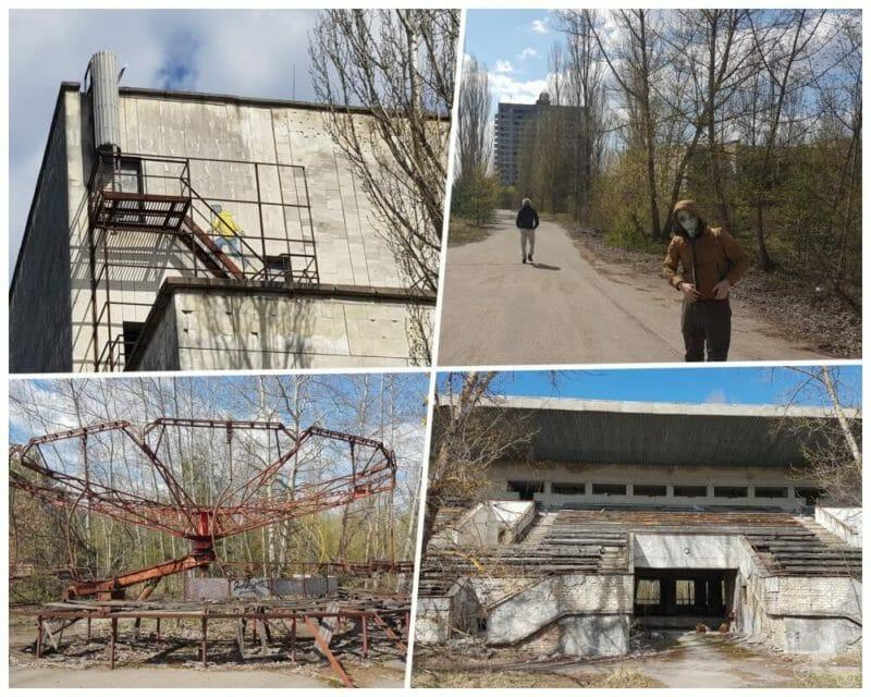 calles pripyat chernobyl