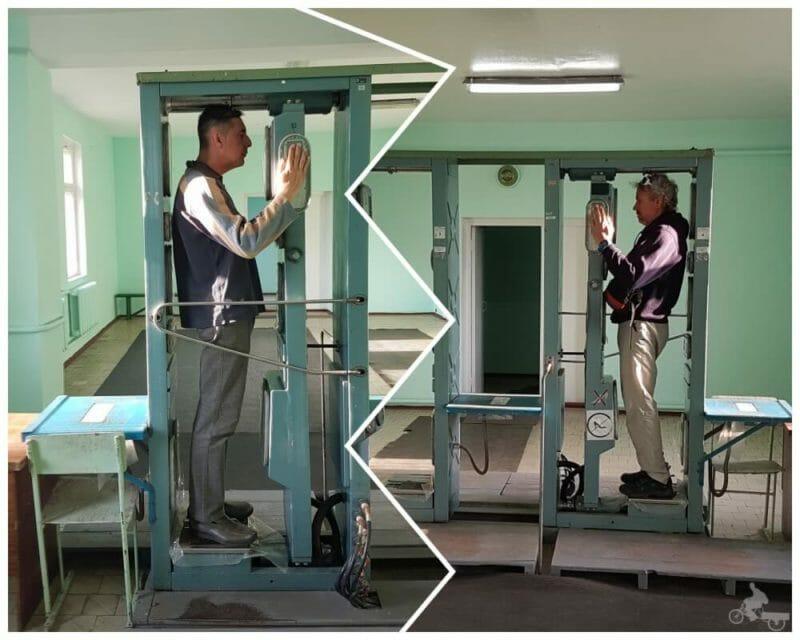 maquina detectora radiactividad chernobyl