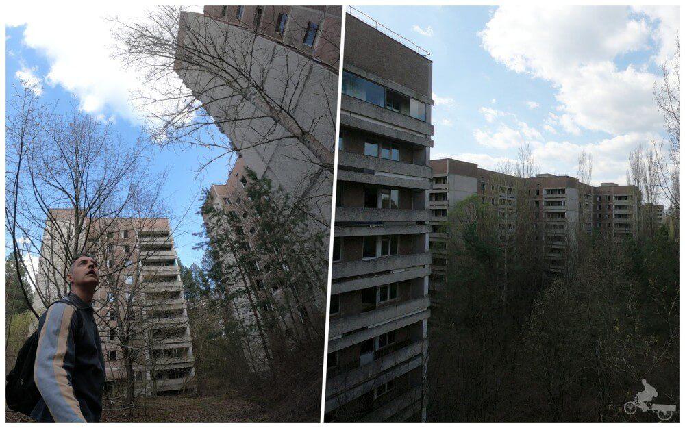 edificios prypiat chernobil