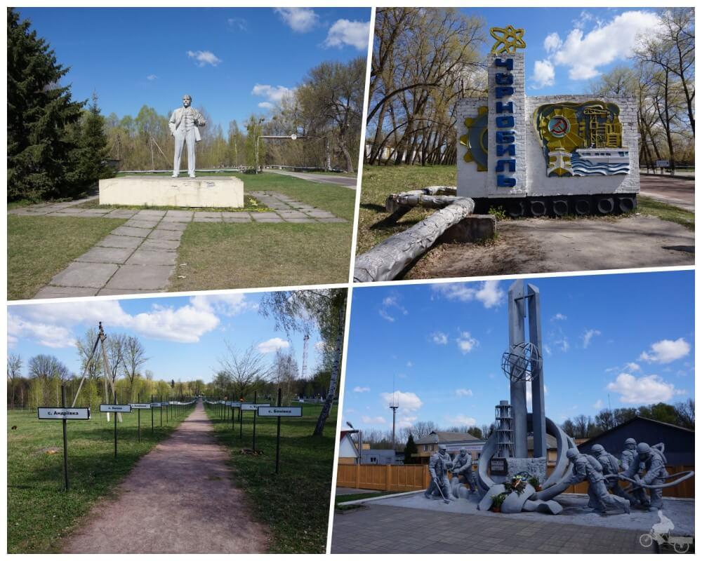 esculturas de chernobyl