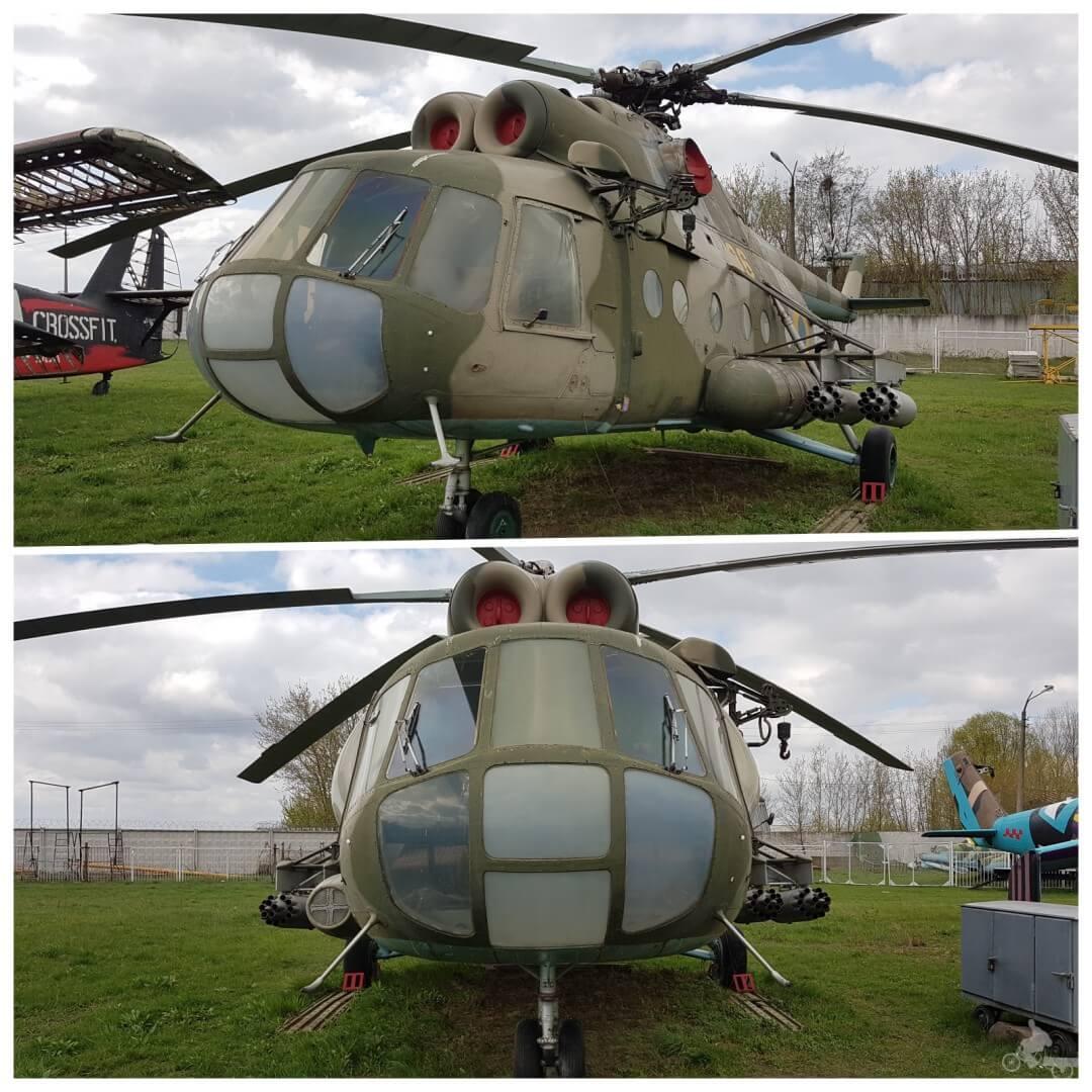 helicoptero museo de la aviación oleg antonov