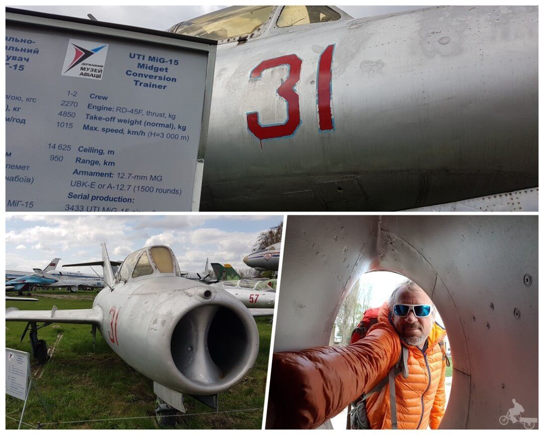 museo de la aviación oleg antonov mig 15