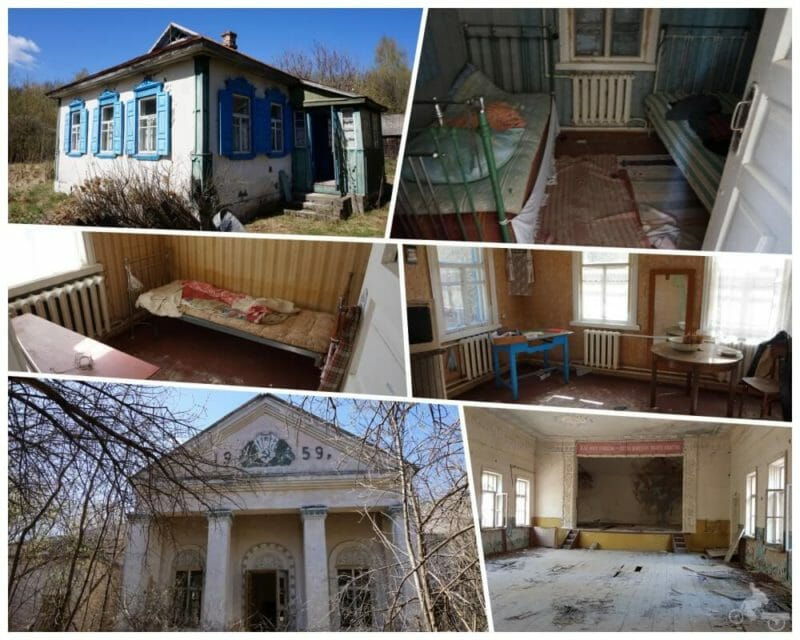 casas zona exclusion chernobil