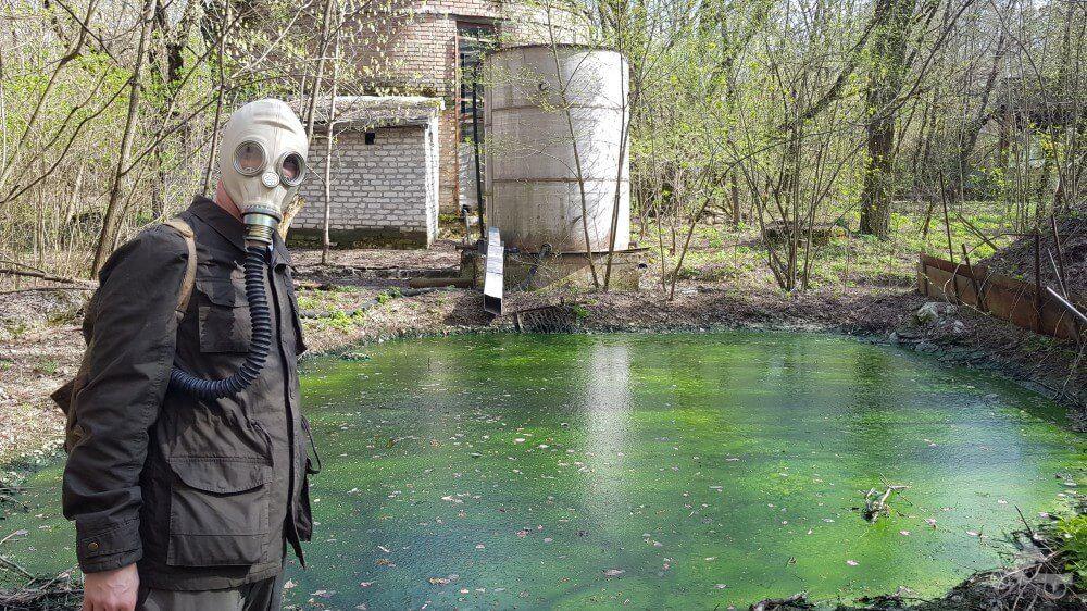 viajar a chernobyl mascara