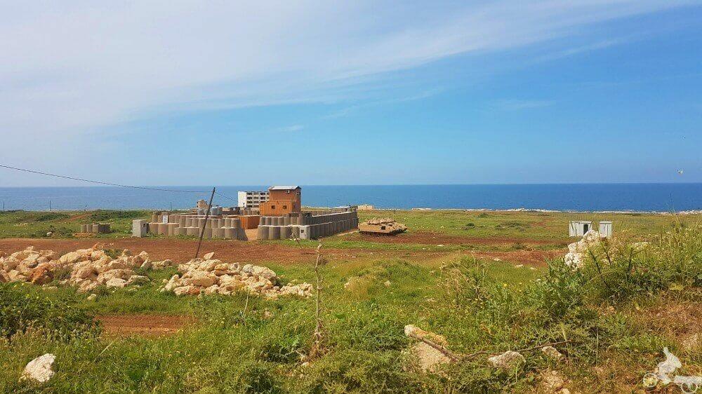 campo tiro militar libano