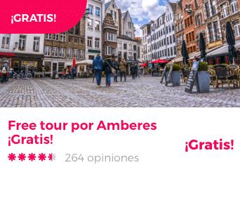 free tour amberes