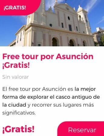 free tour asuncion paraguay