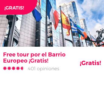 free tour barrio europeo bruselas