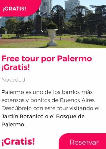 free tour buenos aires por palermo