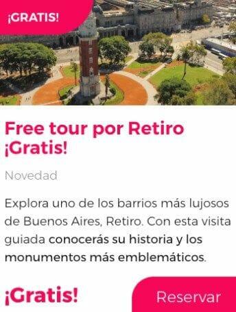 free tour buenos aires retiro