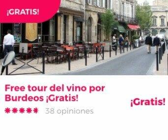 free tour burdeos vino